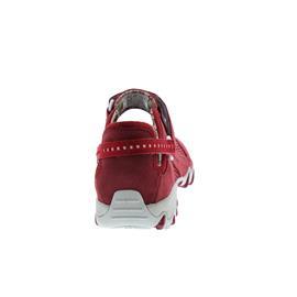 Allrounder Niro, Klettverschluss, C. Suede 48 / Open Mesh 48, Red / Red N819