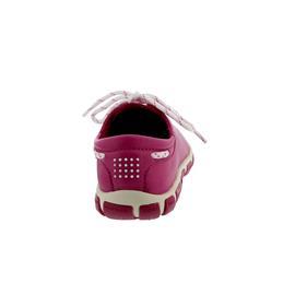 TBS Jazaru, Magenta (pink), Full Grain (Glattleder), Wechselfussbett F7566