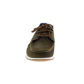 Timberland Hegers Bay 3 Eye Boatshoe, Dark Brown Suede 0A241K