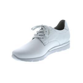 Semler Nelly, Sneaker, Softina/M-Nappa, weiss-silber, Vario-Fussbett, Weite H N8035-114-001