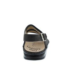 Finn Comfort Sylt, Herrensandale, Impala (Nubukleder), grey 2509-518218