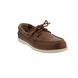 Sebago Naples, Full-Grain Leather (Glattleder), Dark Brown 7000070-901 Men