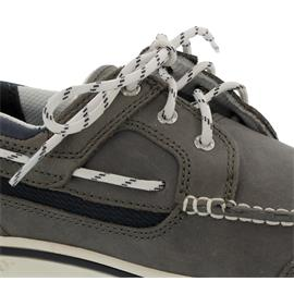 Sebago Triton Three-Eye, Nubuck, Dk. Grey - Blue Navy 7000GF0-984 Man