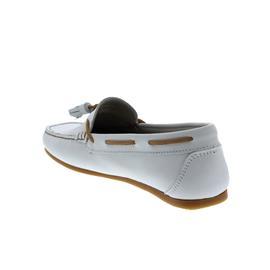 Dubarry Jamaica, Mokassin, Dry Fast-Dry Soft Nubukleder, Sail White, Wechselfußbett 3741-29