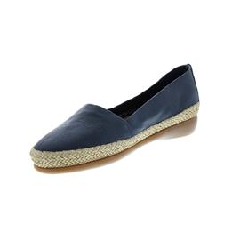 Flex and Go Espadrille, Glattleder, Navy ST0420