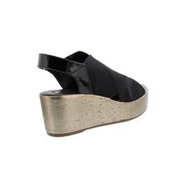 Högl Sandalette, Ventostretch-Textil, schwarz 103236-0100