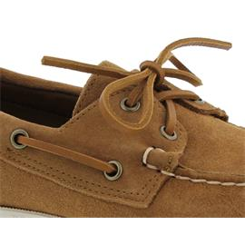 Sebago Docksides, Suede (Veloursleder), brown-cognac, Men 7000G90-907