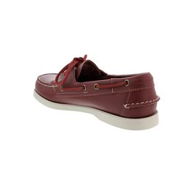 Sebago Docksides, Full-Grain Leather, Dark Red, Men 7000H00-993