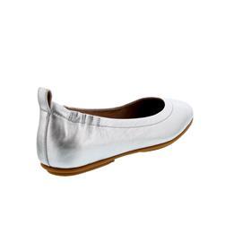 FitFlop Allegro, Ballerina, Silver, Glattleder Q74-011