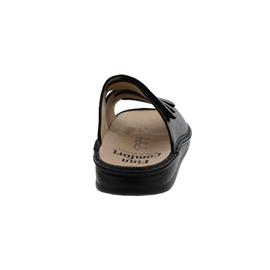 Finn Comfort Korfu, Classic, Bison (Glattleder), schwarz, 1508-055099