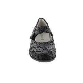 Waldläufer Haifi, Pumps, Titan (bedr. Nubukleder), schwarz, Klettverschluss, Weite H 967301-147-001