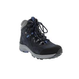 Waldläufer H-Emma, Outdoor-/Wanderstiefel, Gummi / Nubuk, schwarz/marine/silber, Weite H 949971