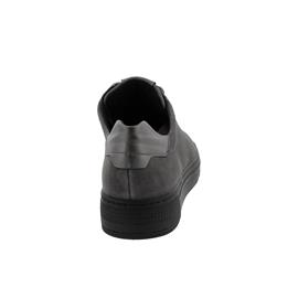 Semler Alexa, Sneaker, S-Chev/M-Nappa, grau-anthrazit, Vario-Fussbett, Weite H A5015-471-860