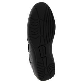 Waldläufer Kya, Klettverschluss, Pigalle (Glattleder), schwarz, Weite K 607302-172-001