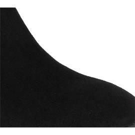 Högl Stiefelette, Velourkid-Leder, schwarz 104112-0100
