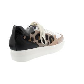 Högl Sneaker, Premiumsheep-Leder, natur/multi 103947-1099