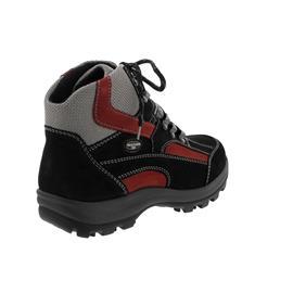 Waldläufer Holly Bootie, Waldläufer-Tex, Denver/Torrix, schwarz/rubin/silber (rot), Weite H 471900-911-868