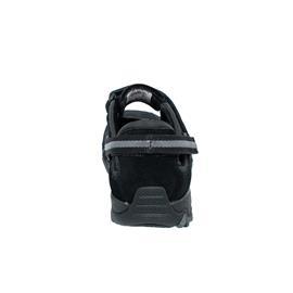 Allrounder Niro, Klettverschluss, C.Suede 1 / W.Mesh 84,  Black / Black N819