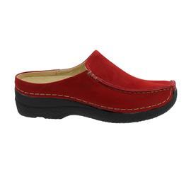 Wolky Seamy-Slide, Clog, Antique nubuck, Dark-red, 0625011-505