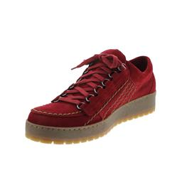 Mephisto Rainbow, Halbschuh, Velours 9801, red, R823