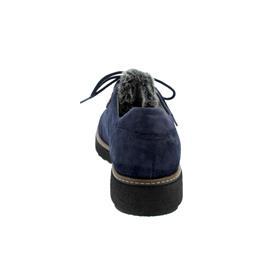Waldläufer Hitomi, Brizu Rabbit (Veloursleder), marine / schwarz, Weite H 911001-200-964