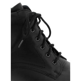 Waldläufer Haifi, Indico (Glattleder), schwarz, Schnürung u. Reißverschluss, Weite H 967809-116-001