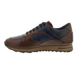 Galizio Torresi Sneaker, Foulard (Glattleder.), nougat/blue, Wechselfußb. 417698