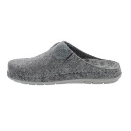 Rohde Damen Pantolette, Softfilz, grau,  Weite G, 6192-80