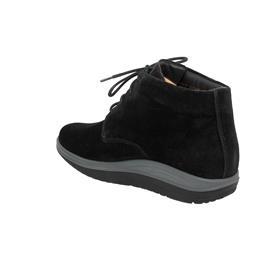 Ganter Gisa, Aktiv Vario, Casualvelour-Leder, schwarz,  Kork-Fußbett, Weite G 208762-0100