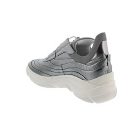 Högl Sneaker, Softmetallic-Leder, anthrazit 105311-6200