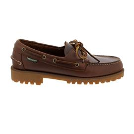 Sebago Portland Lug, Waxy-Leather, Brown Gum, Men 7001HU0-925