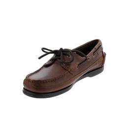Sebago Schooner, Full-Grain Waxy-Leather, Brown Gum, Men 7000GD0-925