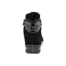 Semler Xenia-Stf., Samt-Chevro/K-Lack, schwarz, Weite H, Vario-Fussbett X10256-441-001