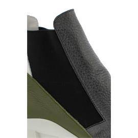 Arche Kytyss, Hopi m/hopi/rocky (Glattleder), Ornoir/oliba/blanc (schwarz/grün/weiss)