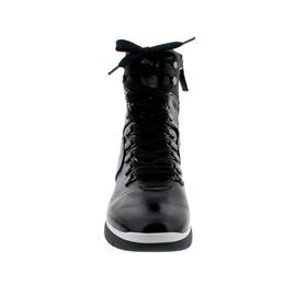 Högl Bootie, Wetlack-Leder, schwarz 106324-0100