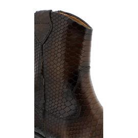 Gabor Westernbootie, Cobra (Glattleder), mohair (Effekt), Reißverschluss 31.600.63