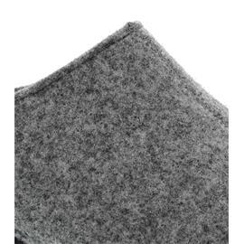 Berkemann Florina, hellgrau, Filz, Hausschuhe, Weite F, Wechselfußbett 1025-652