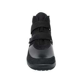 Waldläufer Hesna-Soft, Ortho-Tritt, Nubukleder komb., schwarz / carbon, Weite H 312H81-400-001