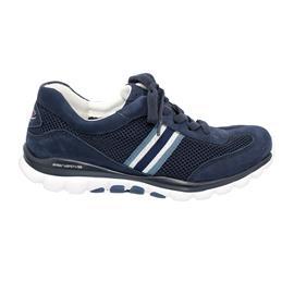 Rollingsoft Sneaker, Mesh / Nubuk / Textil, blue, Wechselfußbett 46.966.16