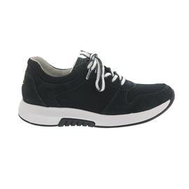 Rollingsoft Sneaker, Mesh / Nubuk, nightblue, Wechselfußbett 46.946.46