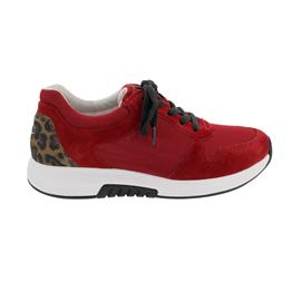 Rollingsoft Sneaker, Mesh/Dreamvel/Luchs, red / savanne, Wechselfußbett 46.946.88