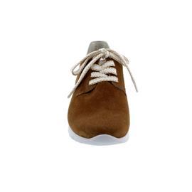 Semler Nelly, Sneaker, S-Chev/Met-Crash, whisky-puder, Vario-Fussbett, Weite H N8035-761-570