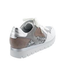 Semler Silvia, Sneaker, Soft-Nappa/Kombi, weiss/ perl/rose/silber, Weite H S2035-199-538