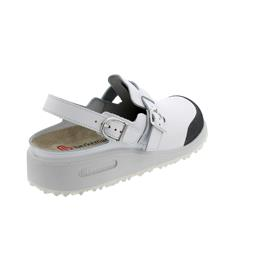 Berkemann X-Pro-Maxor, Glattleder, Wechselfußbett, weiß, 9107-100