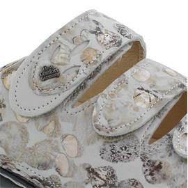 Finn Comfort Kos, Pantolette, Pebble/Nubuk (Nubukleder komb.), Stone/Bianco 2554-902096