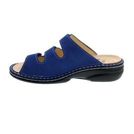 Finn Comfort Menorca-S, Nubukleder, Kobalt (blau), Weichbettung 82564-007440