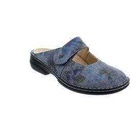 Finn Comfort Stanford - Clog, Klettverschluss, Hippie (gepr. Nappaleder), jeans 2552-672124