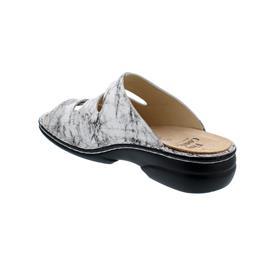Finn Comfort Menorca-S, Marble (Glattleder), Bianco (weiss), Weichbettung 82564-674404