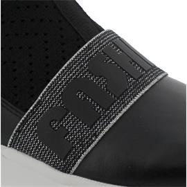 Gabor Sneaker, Nappa/Stretch HT, schwarz, Best Fitting, Wechselfußbett 43.481.27