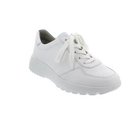 Semler Anita, Sneaker, Softina/M-Nappa, weiss-silber, Weite H A3025-114-101